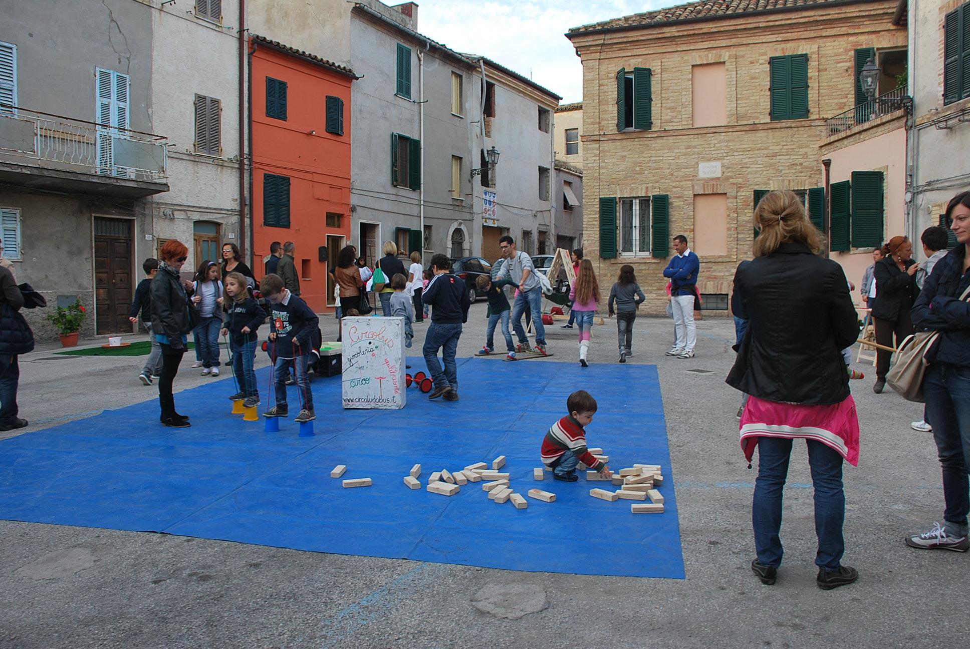 Festa del Patrono 2013, giochi in Piazza Dante