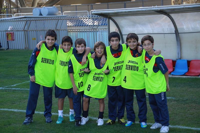 Samb-Montegiorgio, i simpaticissimi ragazzi della Scuola Calcio