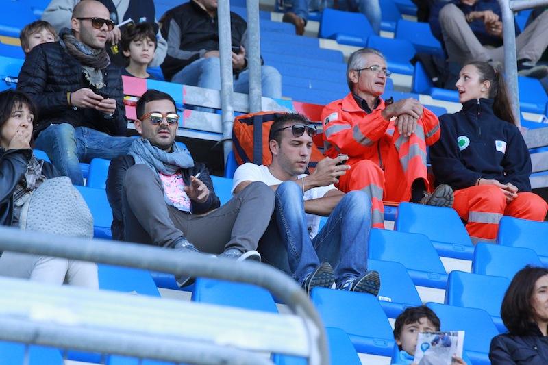 Samb-Montegiorgio, tifosi in tribuna