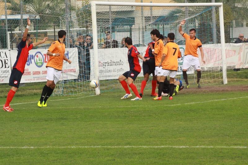 Portorecanati 0-2 Samb, Samb subito vicino al gol