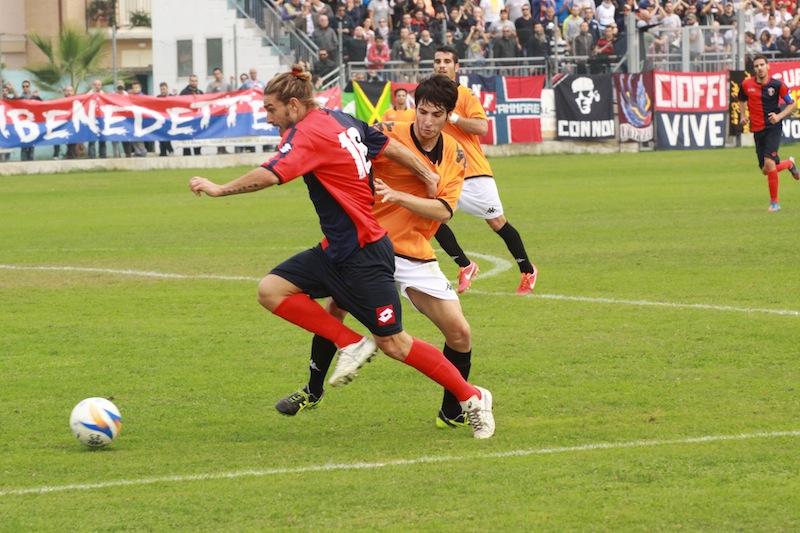 Portorecanati 0-2 Samb, Piccioni si procura il penalty