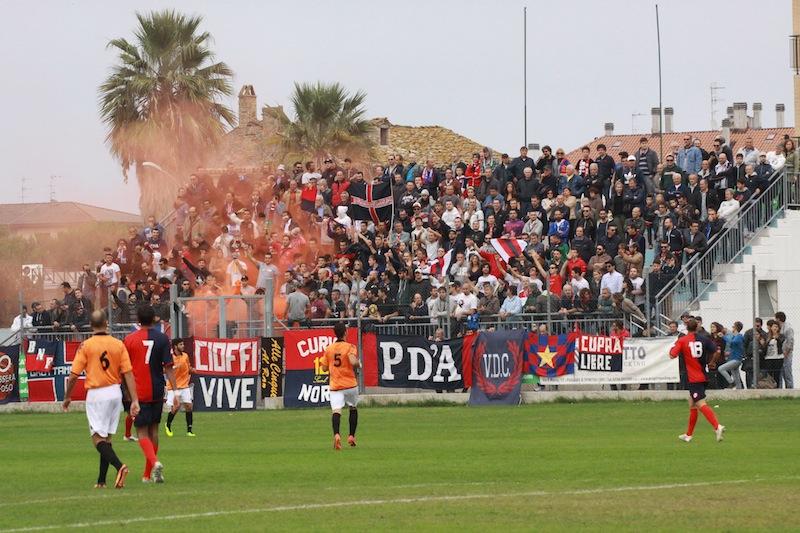 Portorecanati 0-2 Samb, tifosi