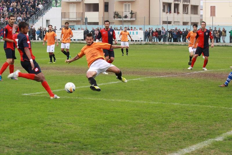 Portorecanati 0-2 Samb, Padovani raddoppia nel secondo tempo