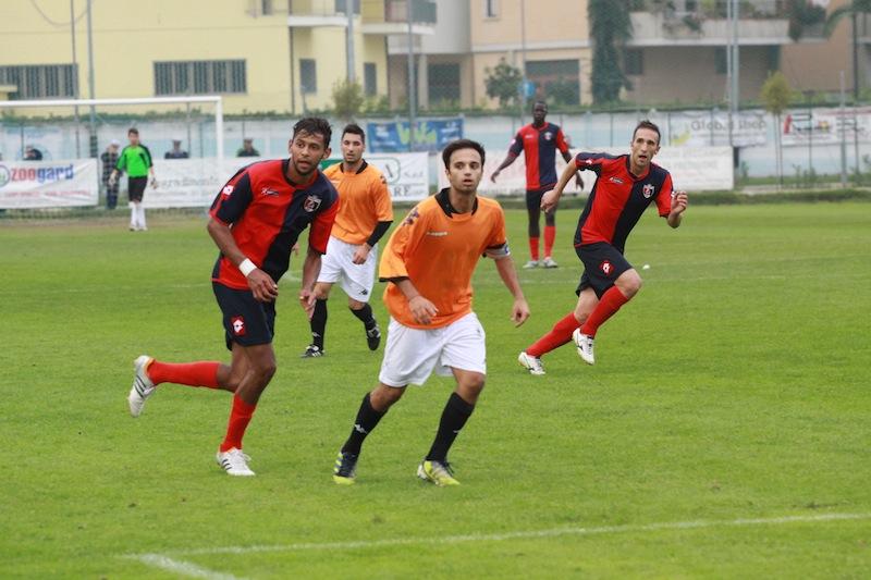 Portorecanati 0-2 Samb, Padovani in azione