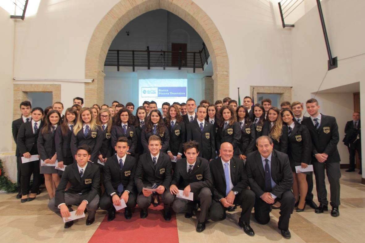 La cerimonia di inaugurazione del nuovo anno scolastico del liceo D'Annunzio di Corropoli