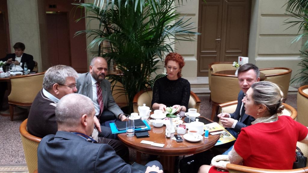 Il sindaco Gaspari impegnato nella missione russa