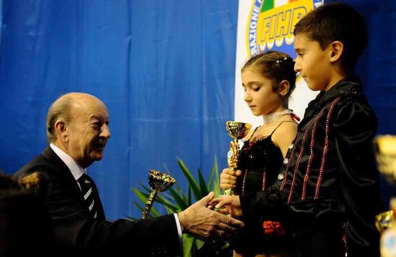 I giovani Kevin e Alba sul podio al trofeo delle regioni