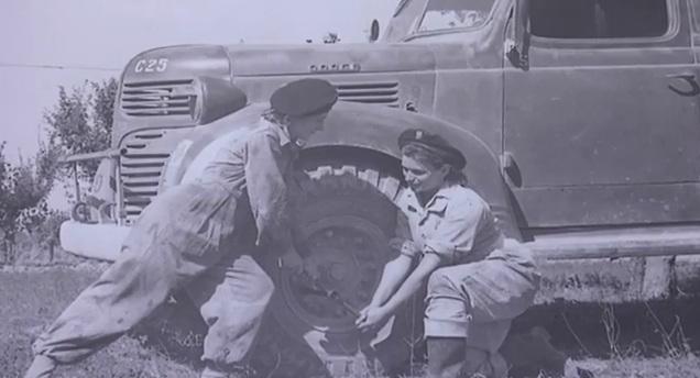 La mostra sulle camioniste polacche nel Secondo Corpo durante la guerra mondiale, qui nelle Marche