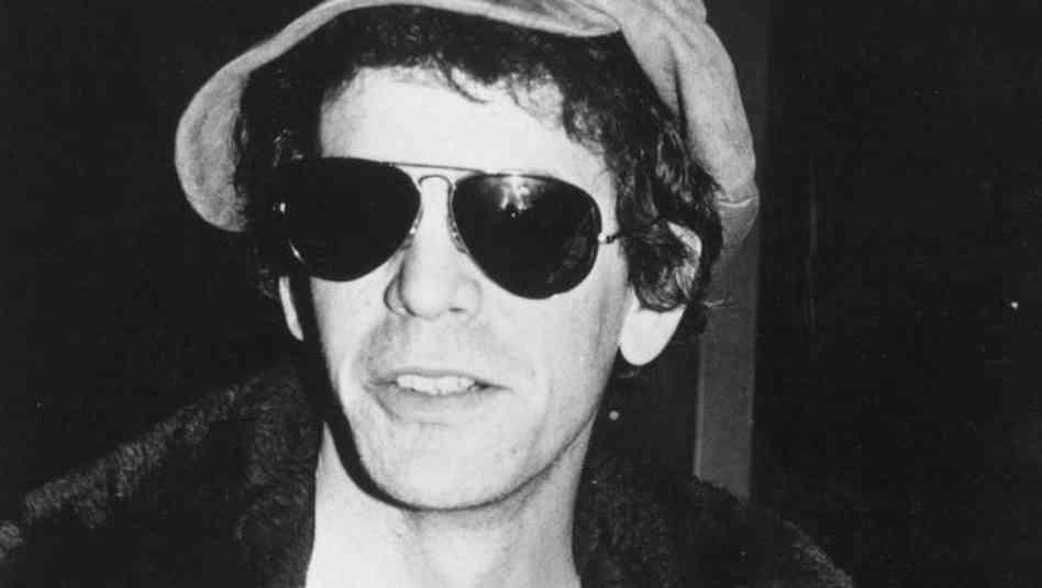 Lou Reed negli anni 60 quando era nei Velvet Underground