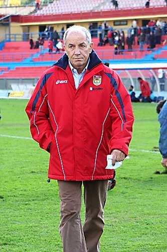 Luigi Boccolini (foto del passato tratta da Wikipedia) nuovo tecnico della Fermana