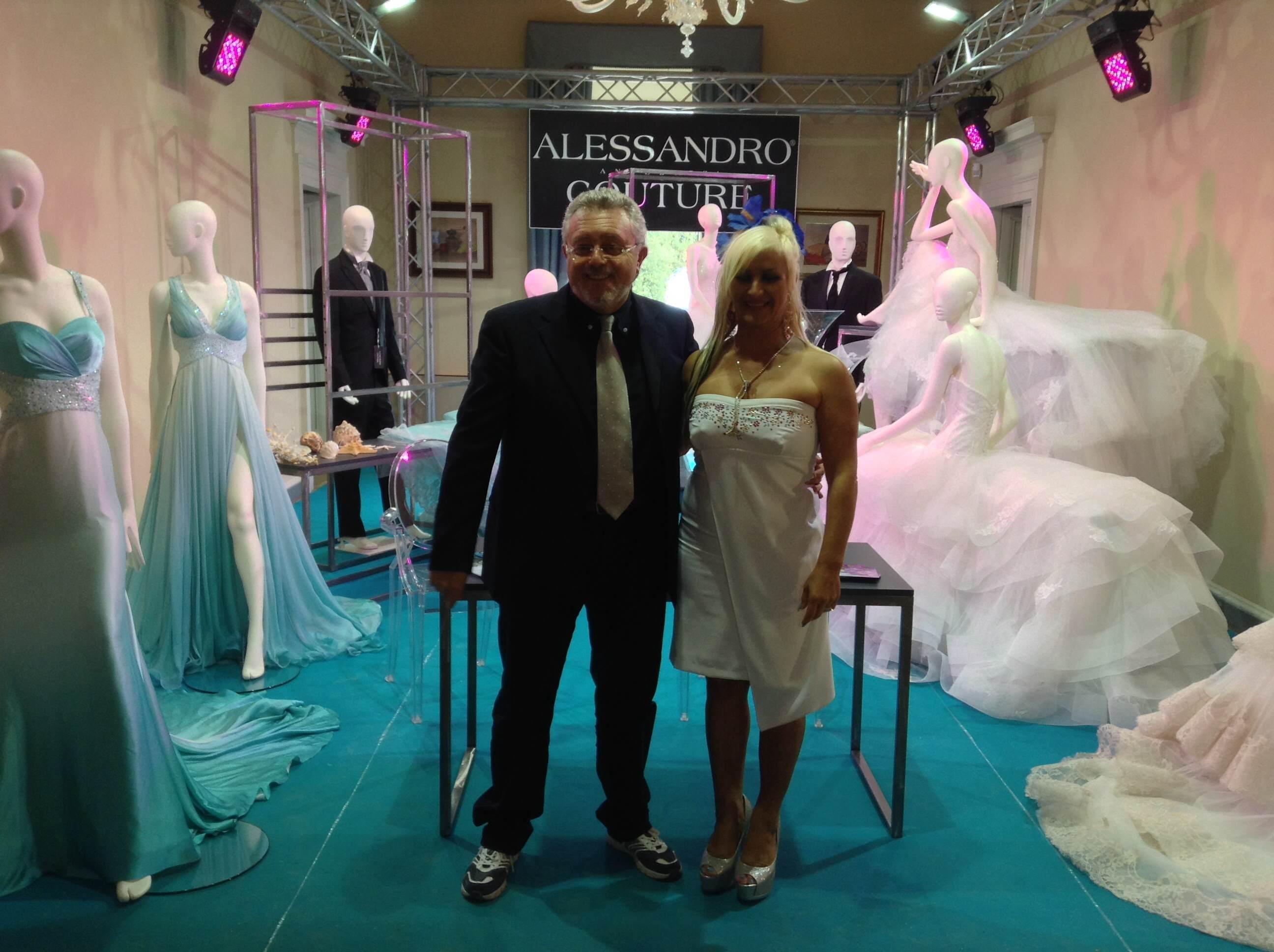 Oriana Simonetti con l'assessore Marco Malaigia