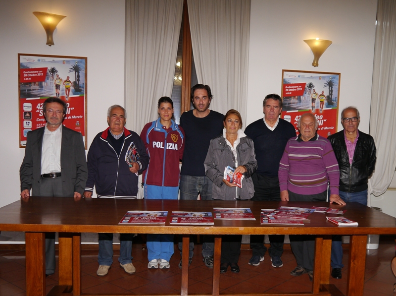 Presentazione del campionato di marcia a Grottammare