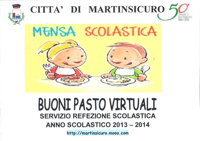 La brochure dei buoni pasto virtuali