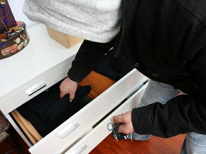 un furto in appartamento