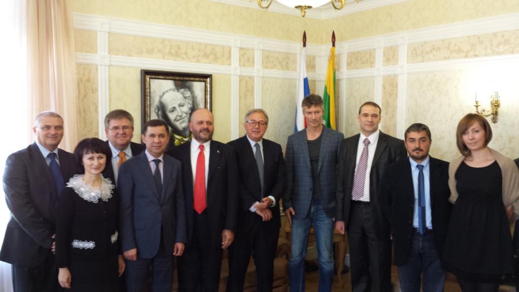 I ncontro con municipalità di Ekaterinburg