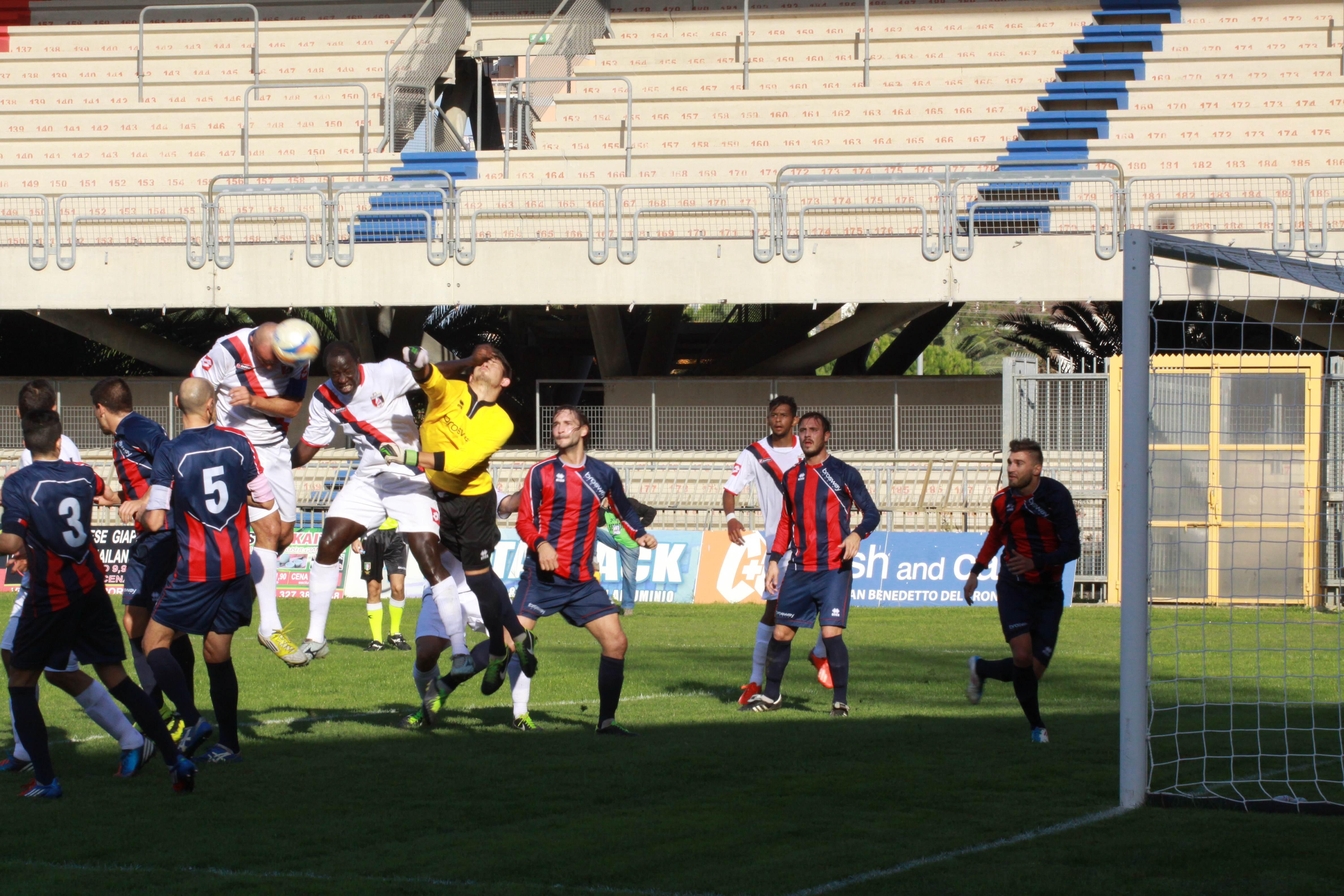 Il primo gol di Tozzi Borsoi