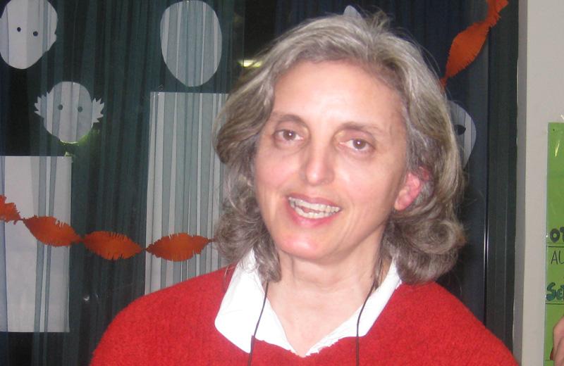 La prof.sa Danila Corsi, presidente dell'Anffas di Martinsicuro