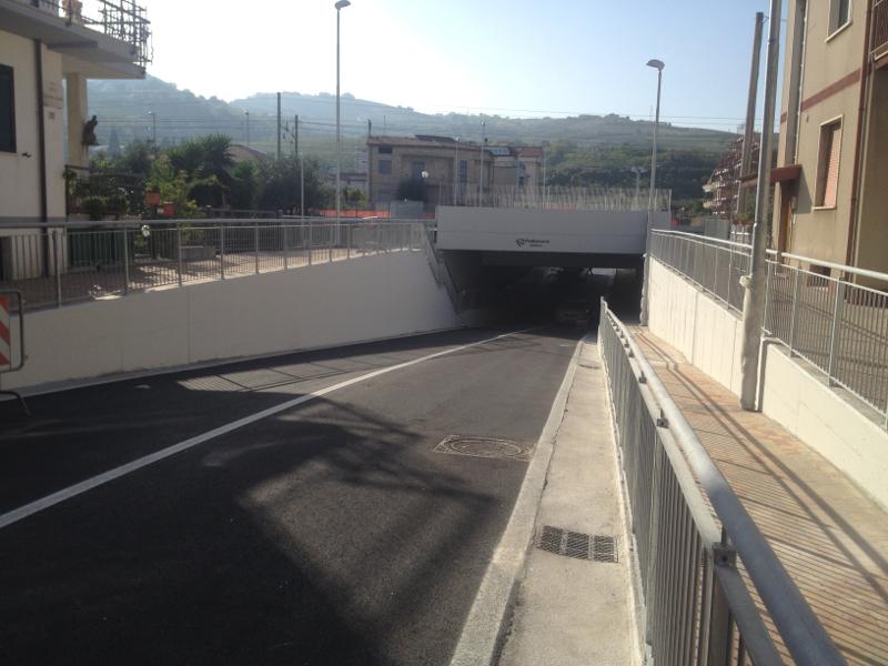 il nuovo sottopasso ferroviario di via Colombo