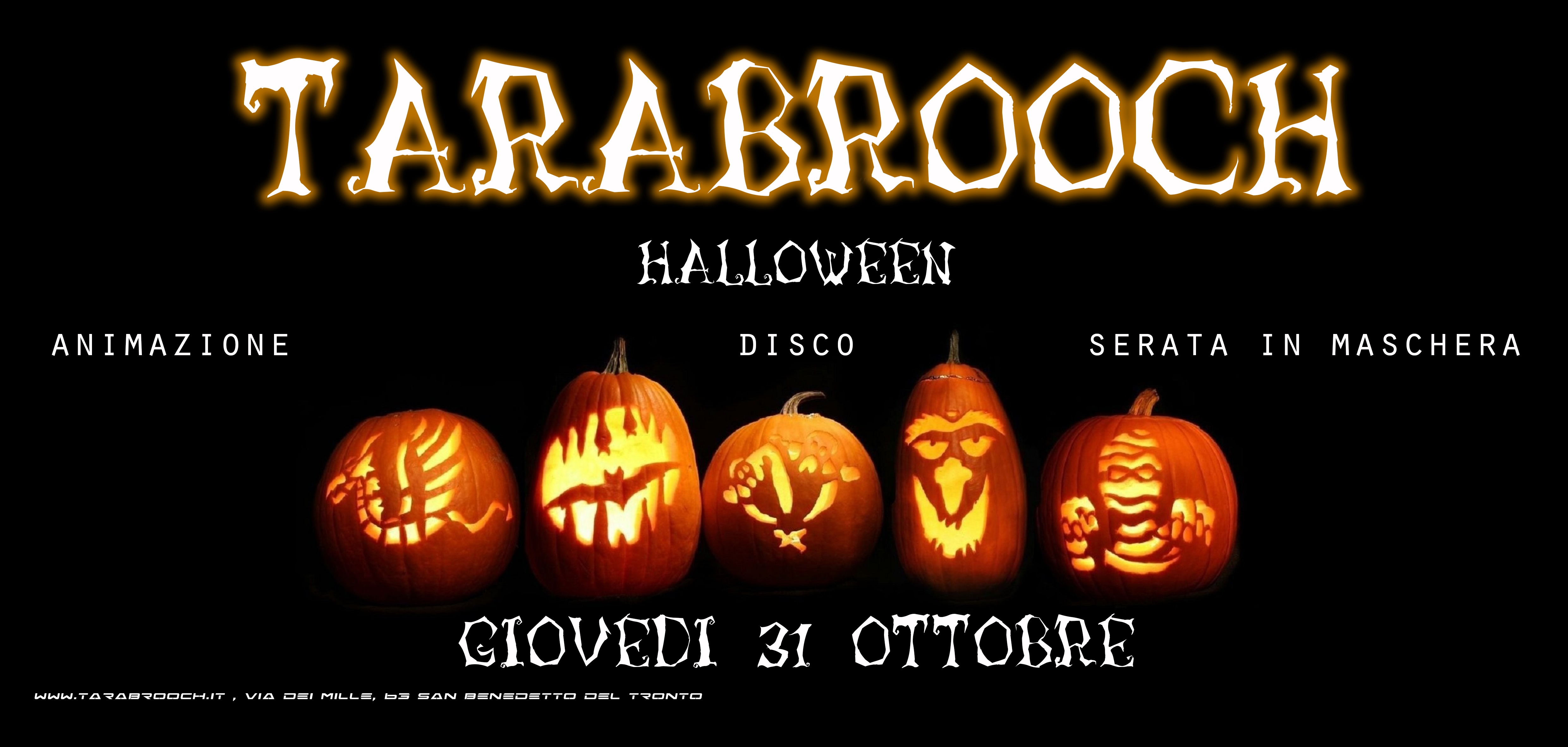 Halloween 2013 al Tarabrooch