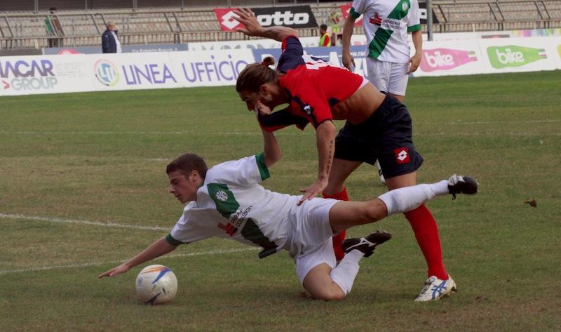 Samb-Castelfidardo 2-1, Piccioni lotta