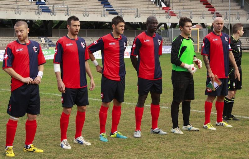 Samb-Castelfidardo 2-1, l'ingresso in campo 2