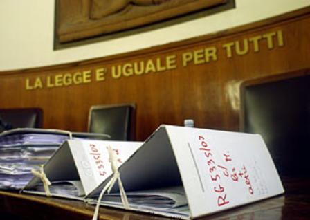 Condannati per estorsione tramite l'udienza preliminare