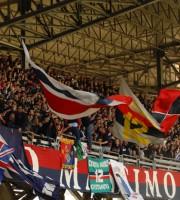 I tifosi della Curva Nord