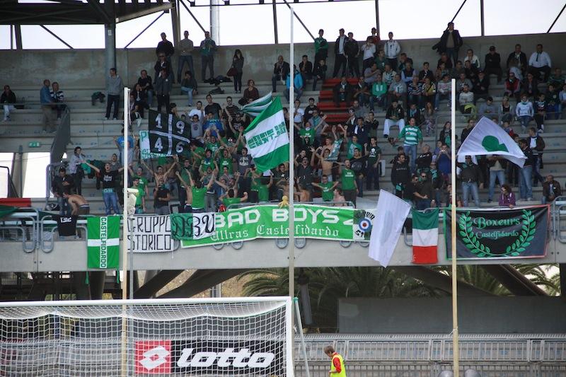 Samb-Castelfidardo 2-1, tifosi ospiti