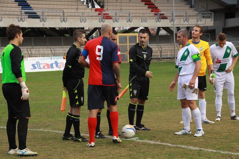 Samb-Castelfidardo 2-1, l'ingresso in campo 3