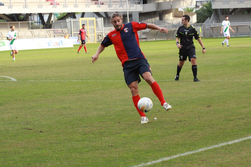 Samb-Castelfidardo 2-1, Piccioni in azione