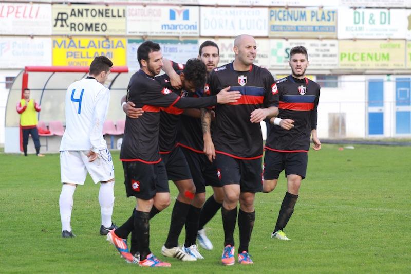 Tozzi Borsoi durante la partita contro la Monturanese