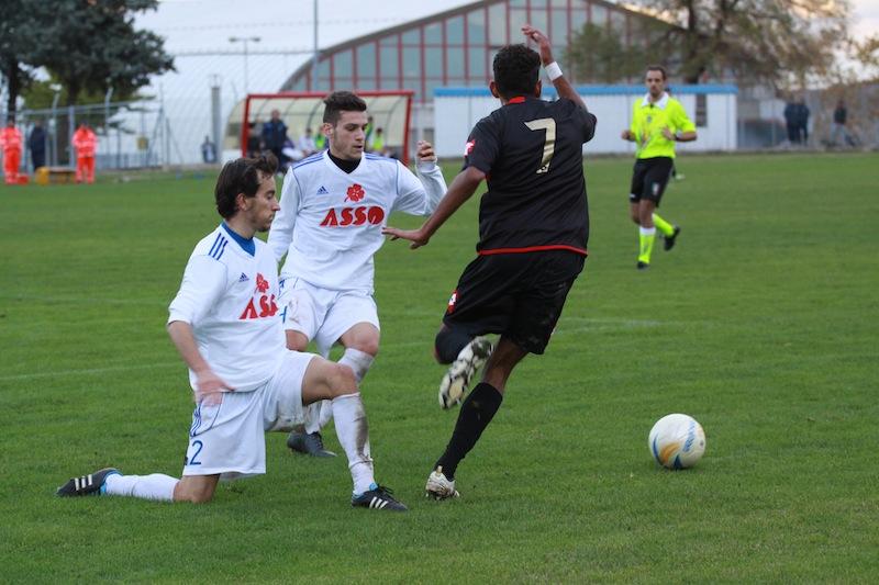 Monturanese 1-2 Samb, Padovani
