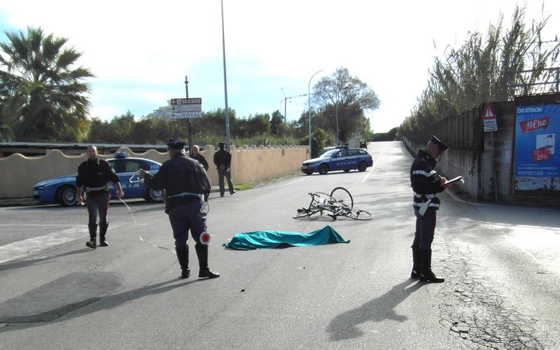 Incidente mortale in via Sgambati (foto vesperini)