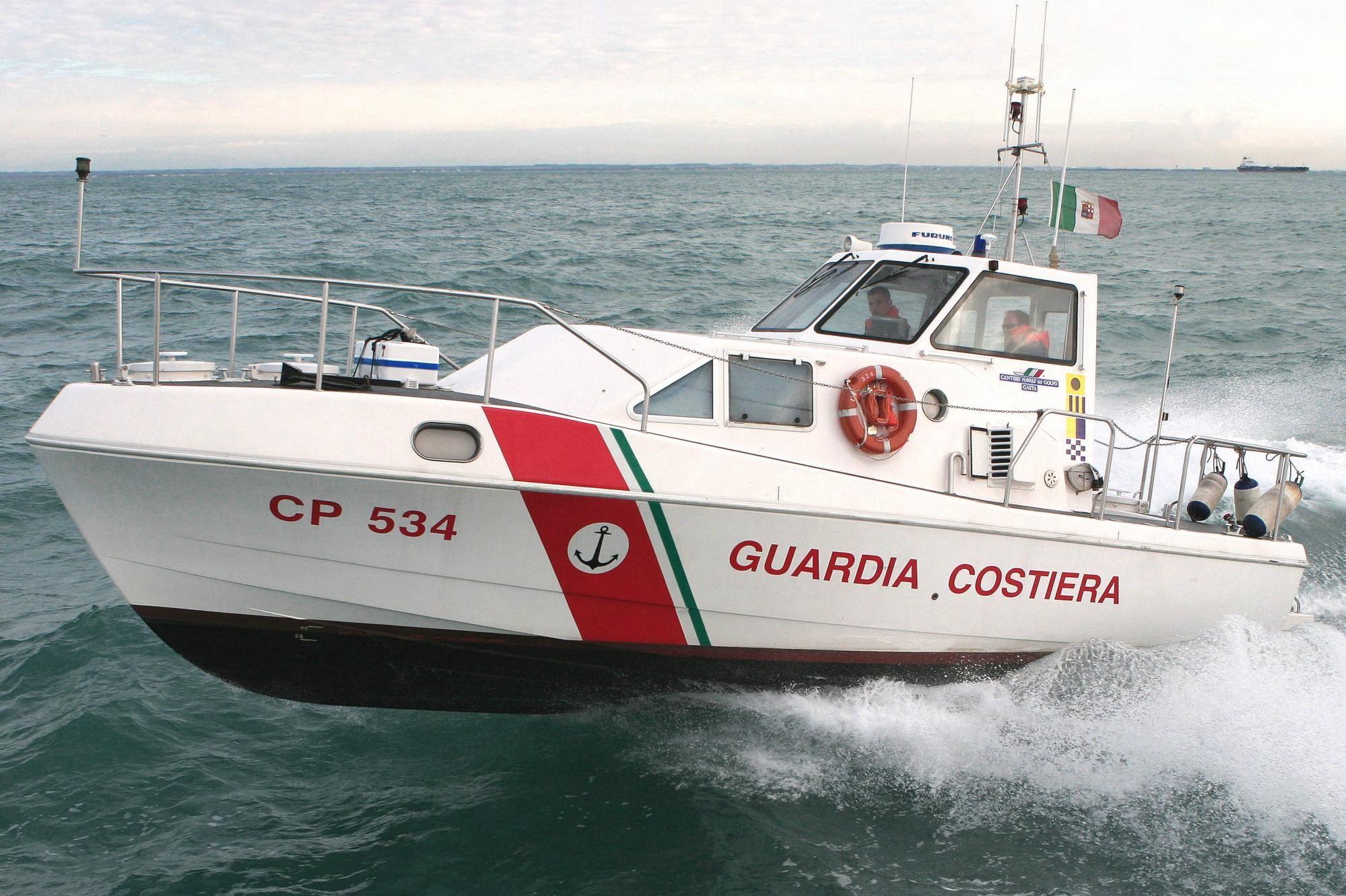 La Guardia Costiera ha condotto questa operazione