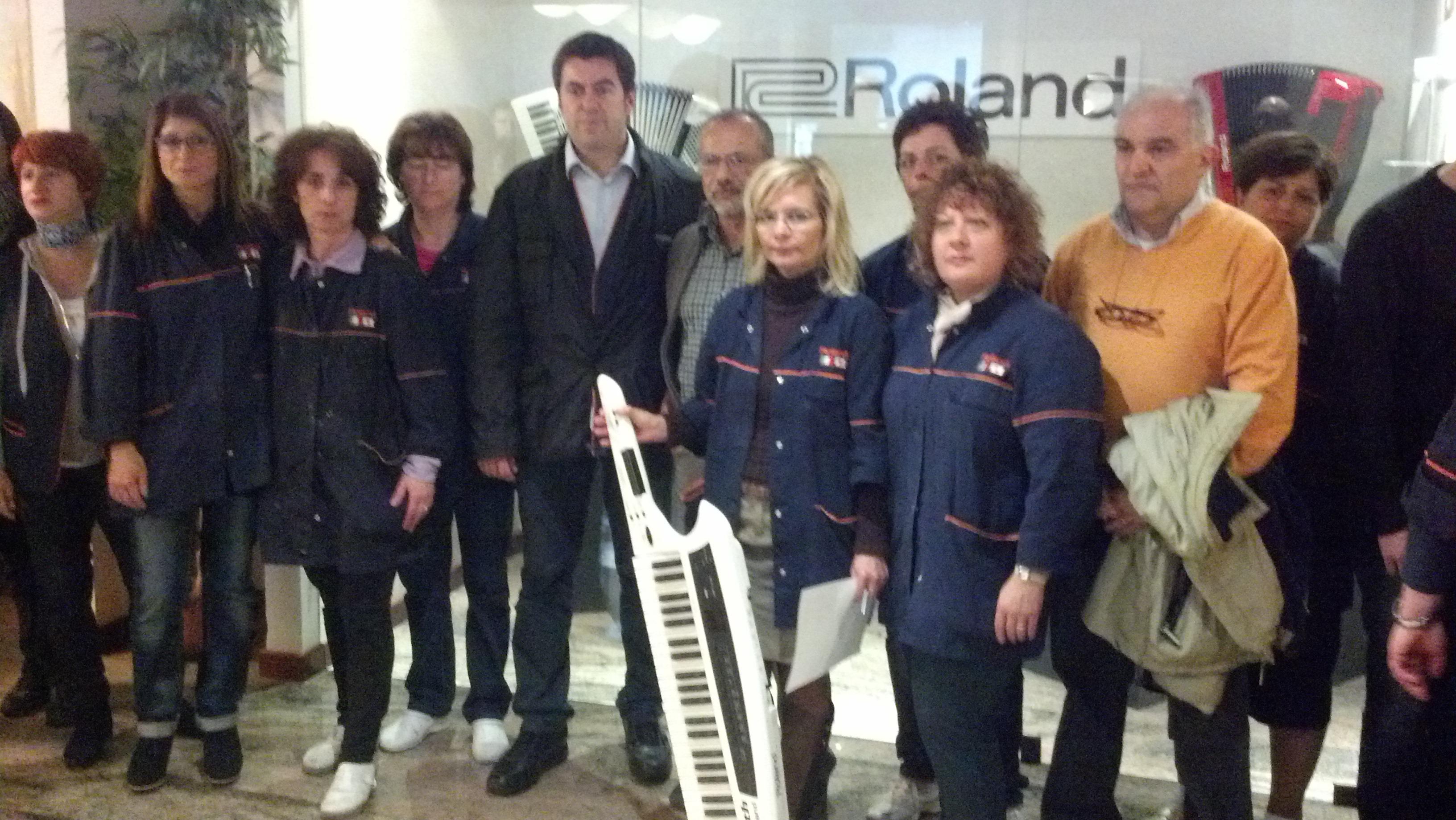 I dipendenti della Roland