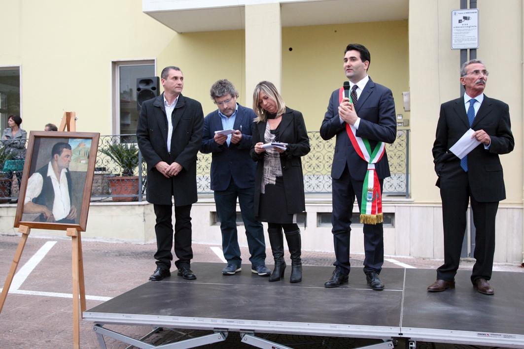 L'inaugurazione della piazza intitolata ad Attilio Gasparretti