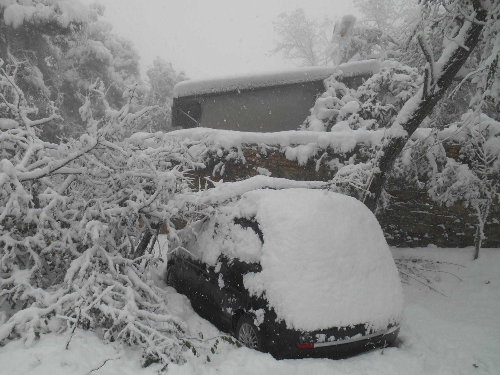 Neve a Ripatransone, 27 novembre 2013 3