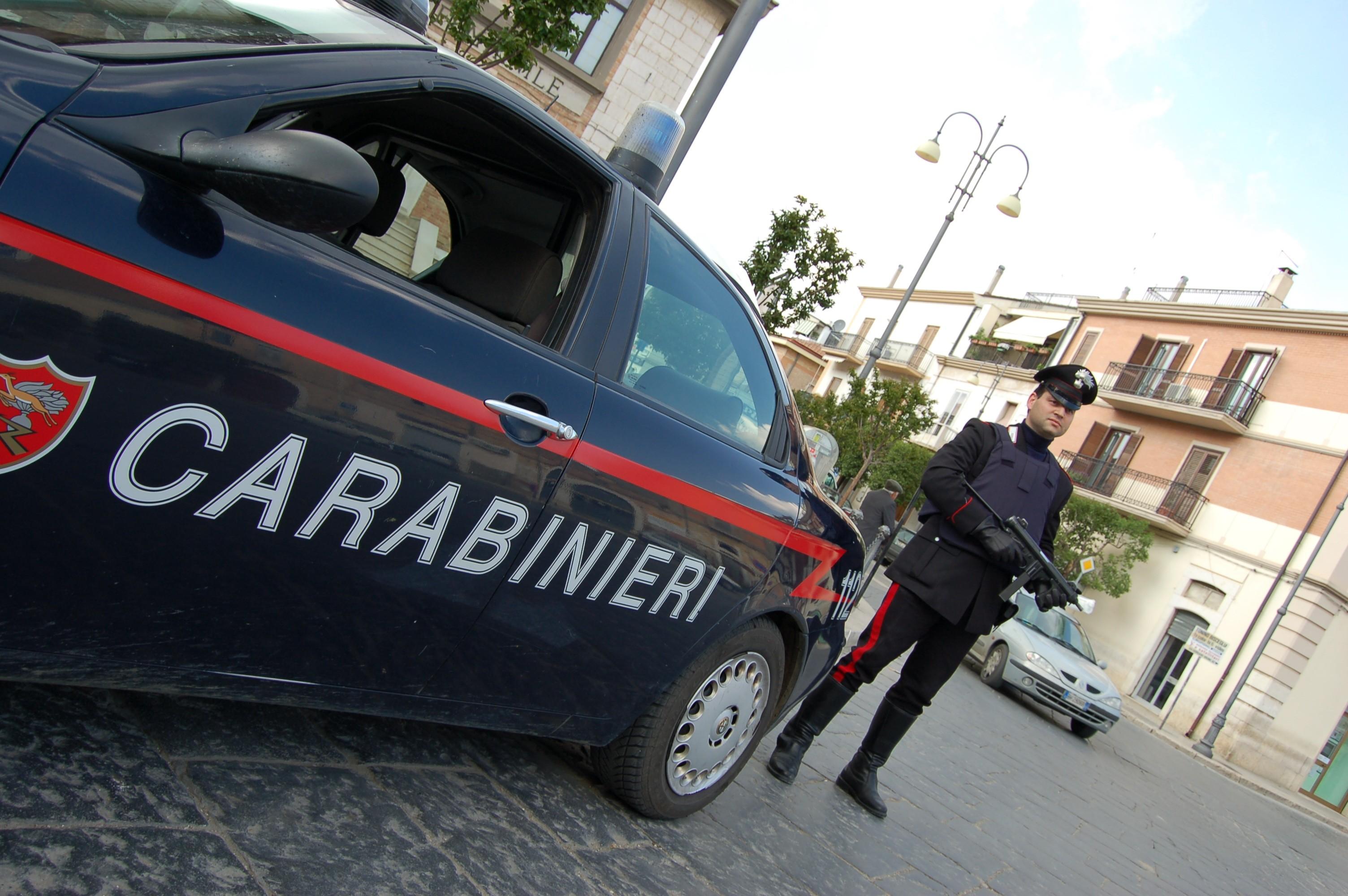 Operazione anti droga condotta dai carabinieri