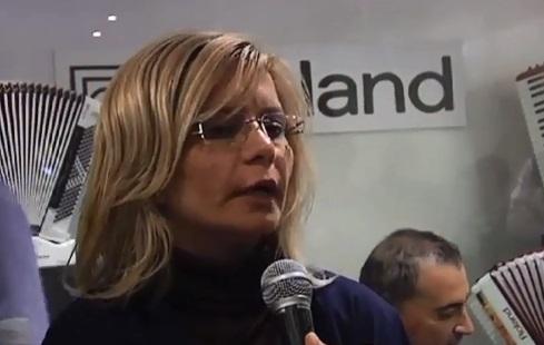 Patrizia Taffoni, lavoratrice Roland Europe