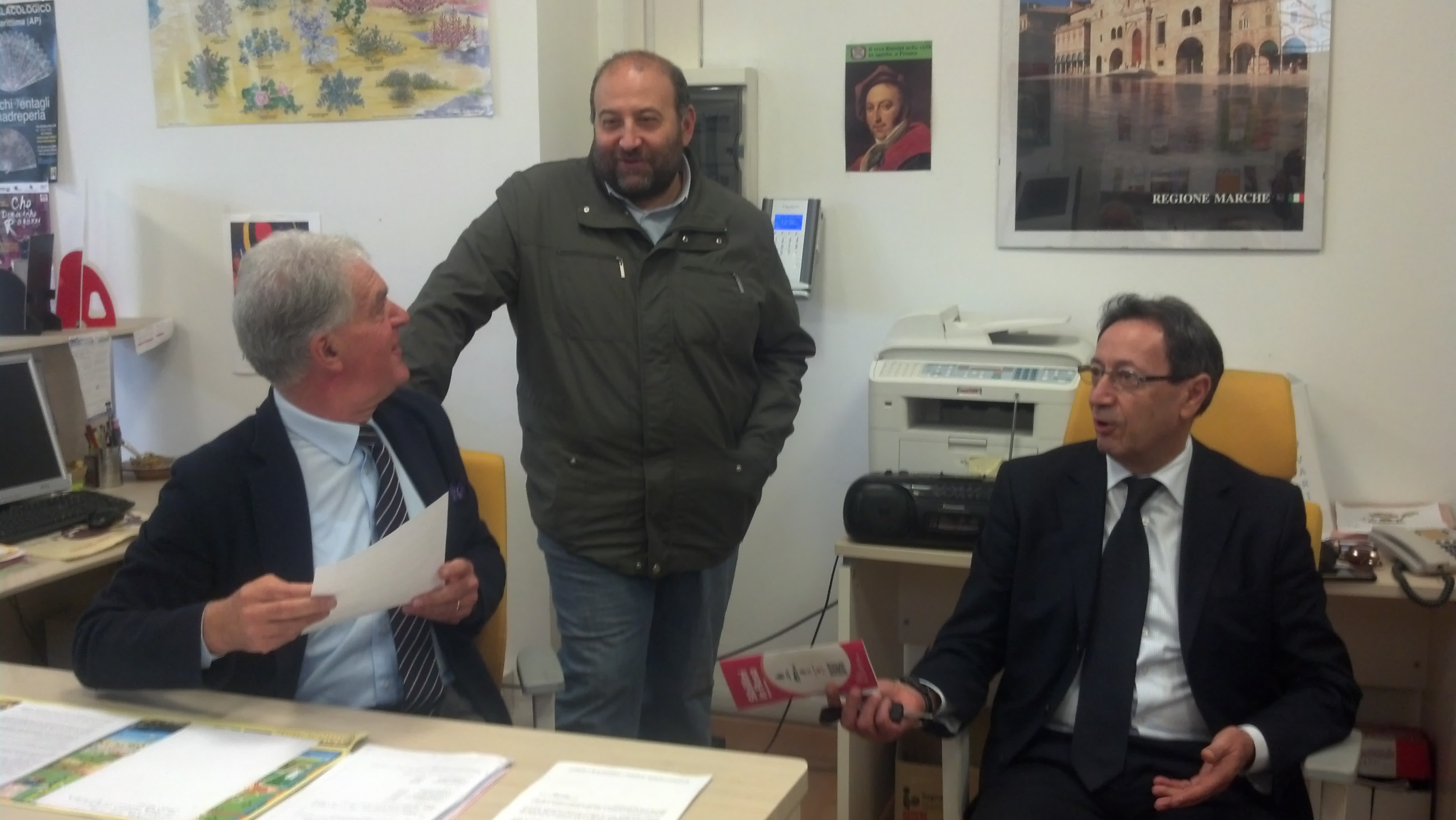 Piero Celani, Andrea Maria Antonini, Pasqualino Piunti