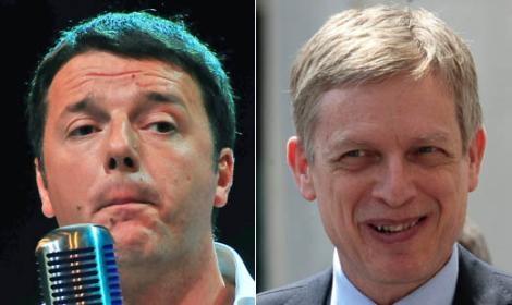 Renzi e Cuperlo