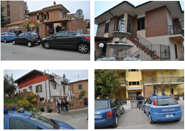 Maxi sequestro di beni appartenenti ad una rom