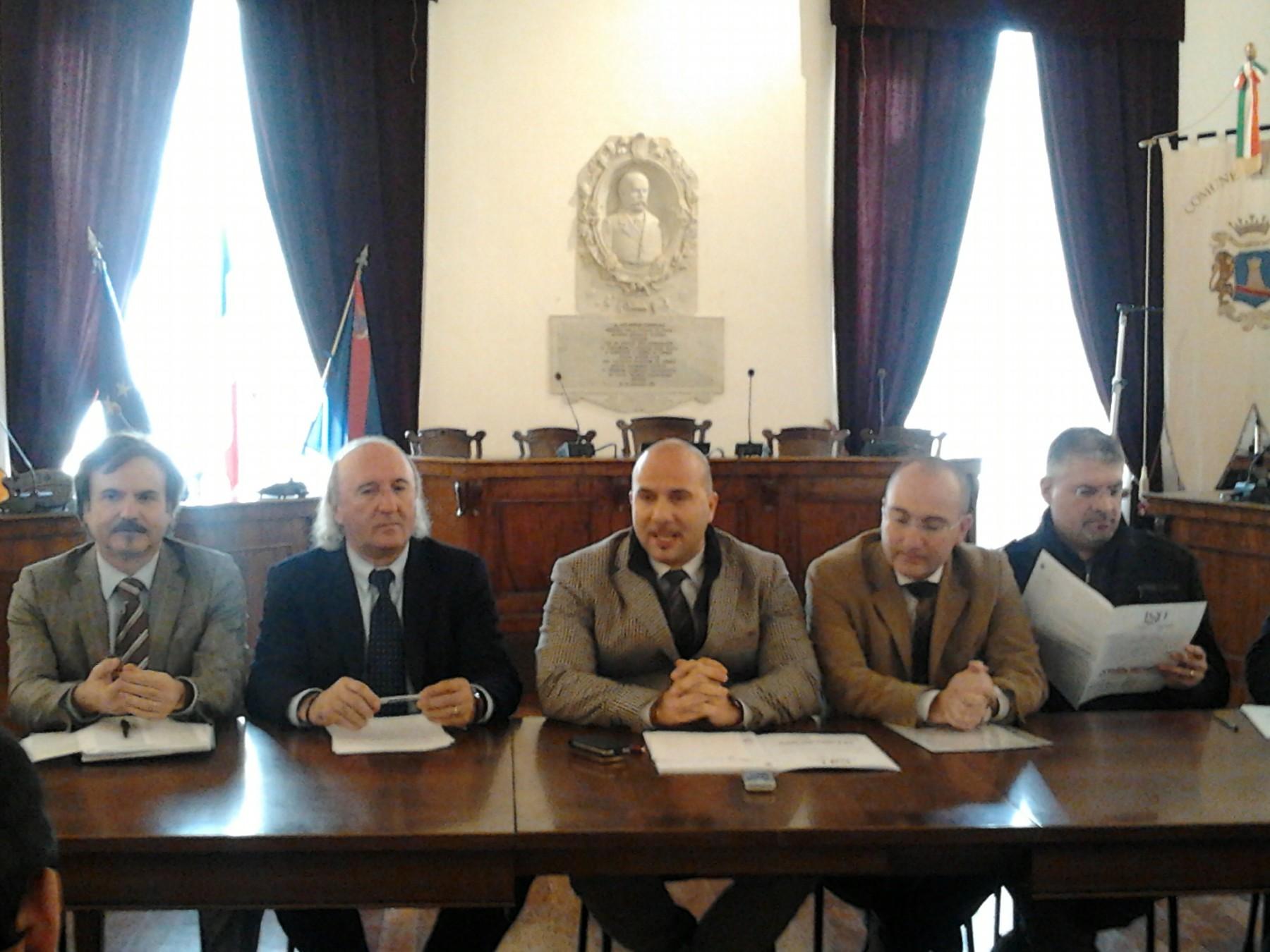 La giunta Lucciarini