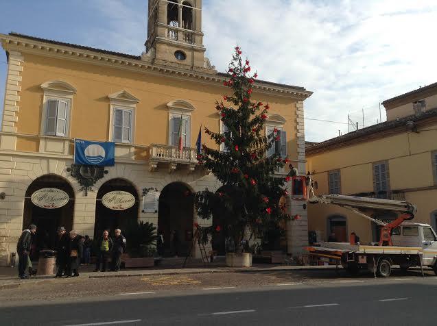 Albero di Natale a Cupra