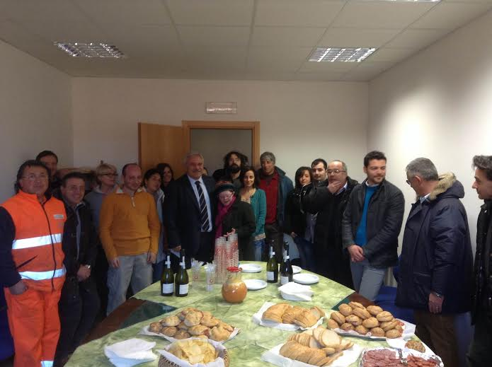 Auguri dal sindaco D'Annibali per un felice 2014