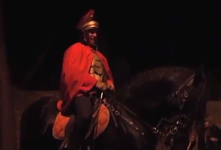 C'è anche un cavaliere molto conosciuto dalla politica grottammarese e provinciale, al Presepe Vivente, ma per ora non sveliamo il nome