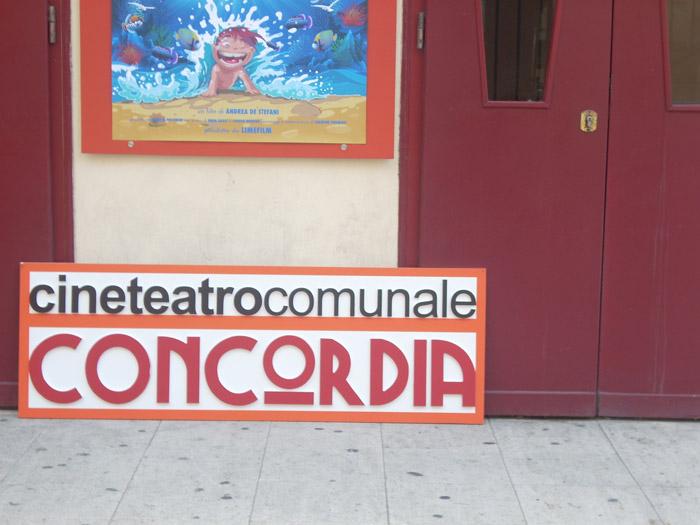 Il Concordia diventa un cinema