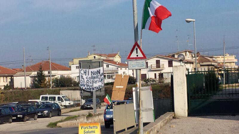 Fermiamo l'Italia, 9 dicembre, Val Vibrata (ph. Bianchini)
