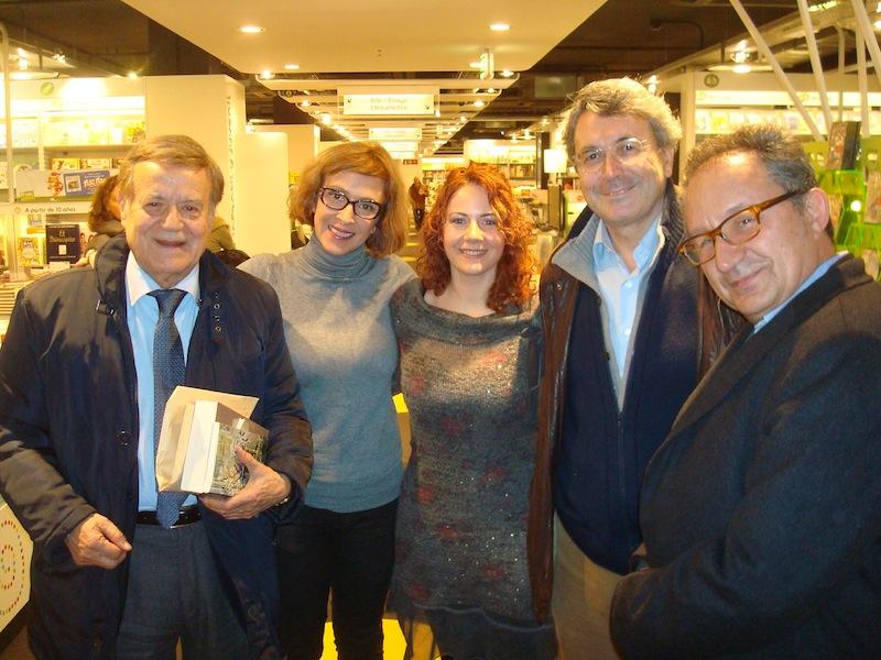 Gabriele Morelli, Xelo Candel Vita, Valeria Di Felice, Andres Trapiello, Abelardo Linares