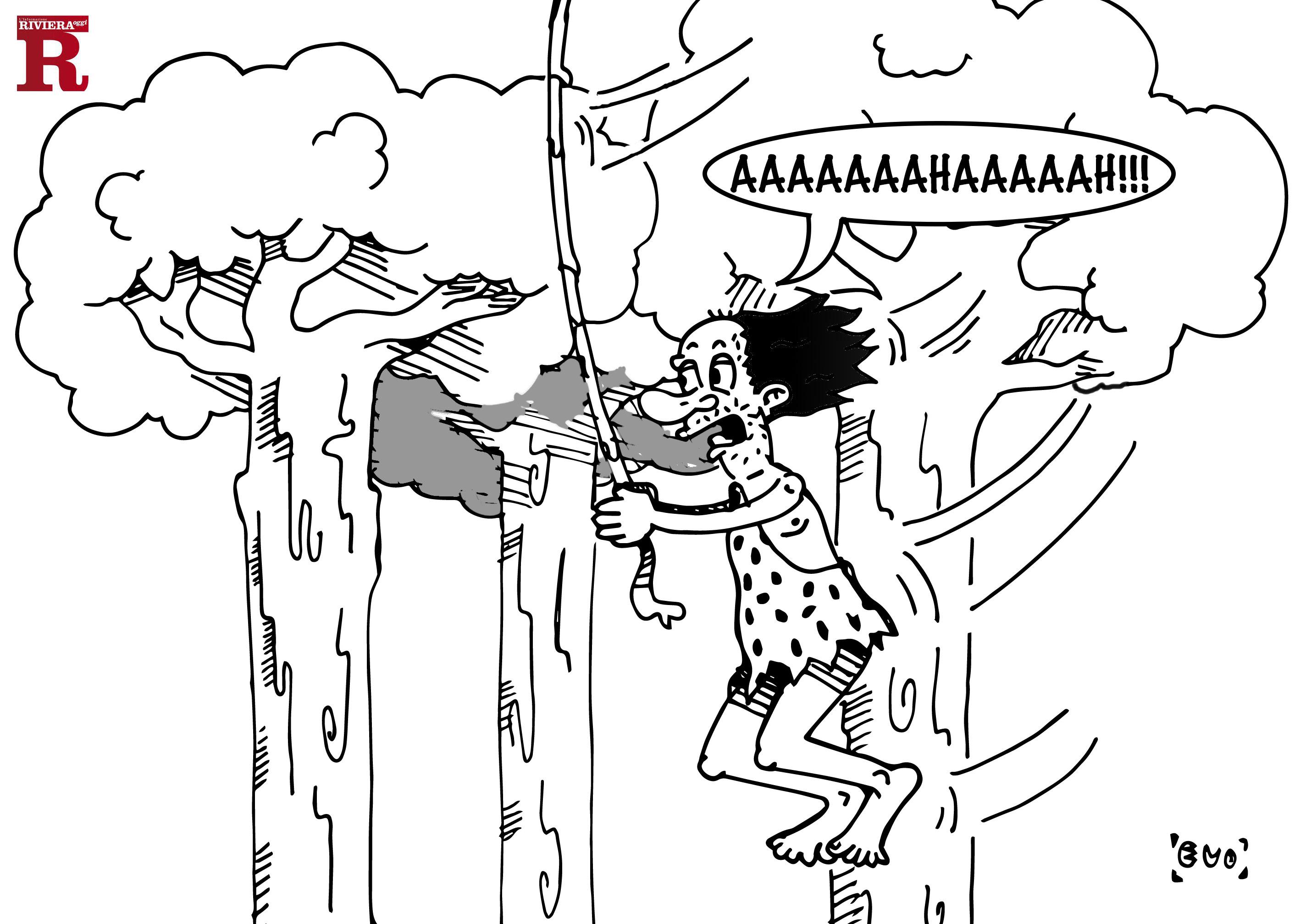 Gaspari-Tarzan e la foresta silenziosa